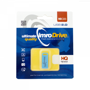 Στικάκι USB Pendrive IMRO MICRO ECO 16GB - Μπλε