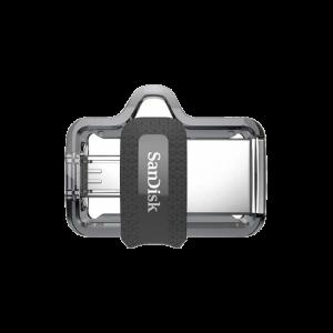 Στικάκι USB SanDisk Dual Drive m3.0 16GB - Μαύρο