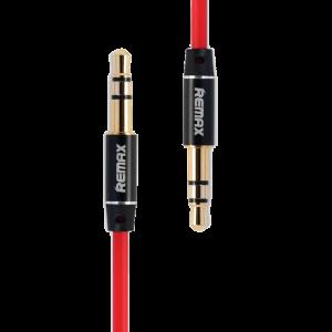 Καλώδιο Ήχου Remax RM-L100 3.5mm (M) σε 3.5mm (M) 1m - Κόκκινο