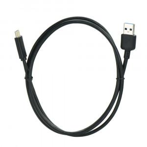 Καλώδιο Φόρτισης και Μεταφοράς Δεδομένων USB Type-C 3.1 / 3.0 1m - Μαύρο