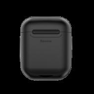 Θήκη Baseus για Ασύρματη Φόρτιση Apple AirPods - Μαύρο