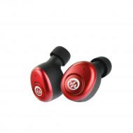 Bluetooth Headset Stereo Enod Mini Ring - Κόκκινο