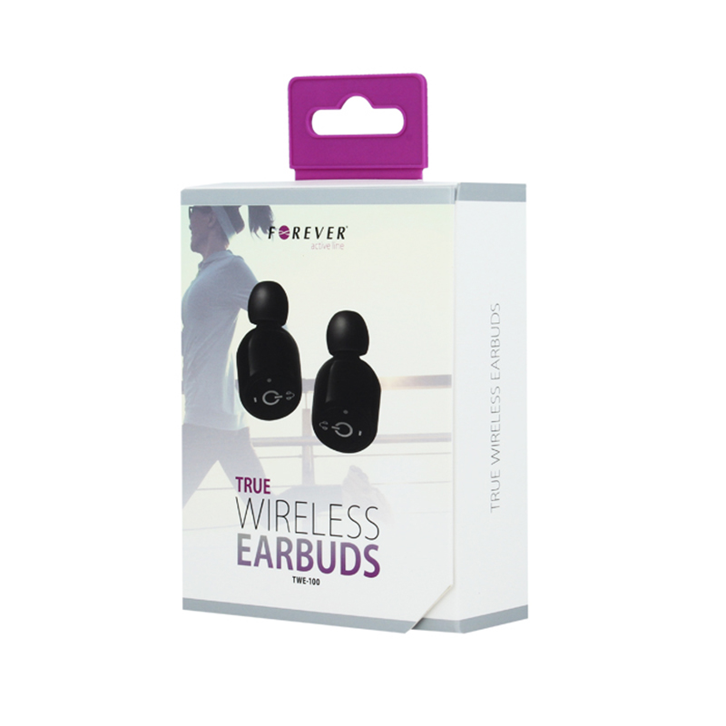 Bluetooth Headset Forever TWE-100 - Μαύρο