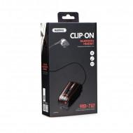 Ακουστικό Bluetooth Remax RB-T12 Clip-on - Μαύρο