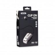 Ακουστικό Bluetooth Remax RB-T12 Clip-on - Άσπρο