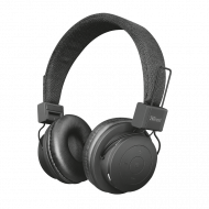 Headphones Bluetooth Trust LEVA - Μαύρο