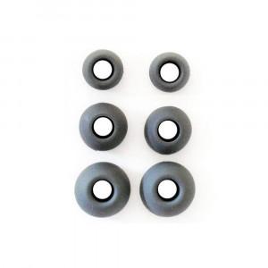 Λάστιχα Rubbers για ακουστικά Handsfree 3 Μεγέθη σε ένα σετ - Μαύρο