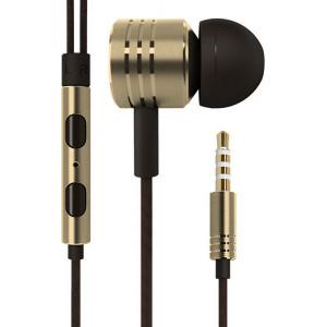 Handsfree OEM Stereo Ακουστικά Universal με Ρυθμιστή (EN50332-2) - Χρυσό