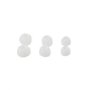 Λάστιχα Rubbers για ακουστικά Handsfree 3 Μεγέθη σε ένα σετ - Άσπρο