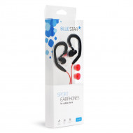Handsfree Bluestar Ακουστικά Handsfree Sport Sp80 - Μαύρο / Κόκκινο