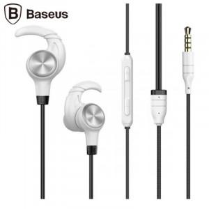 Handsfree Ακουστικά Baseus Enock H31 - Μαύρο / Άσπρο