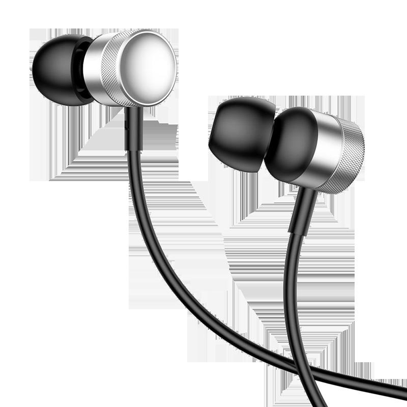 Handsfree Ακουστικά Baseus Enock H04 - Ασημί