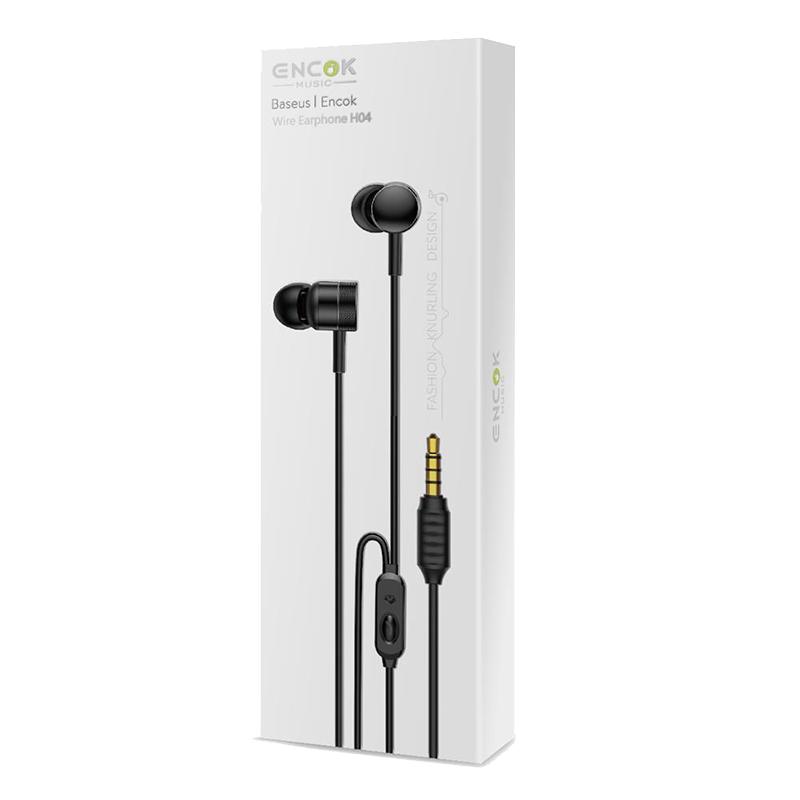 Handsfree Ακουστικά Baseus Enock H04 - Μαύρο