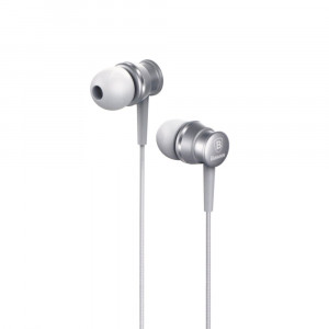 Handsfree Ακουστικά Baseus Lark Series - Ασημί