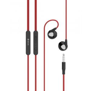 Handsfree Ακουστικά DEVIA Ripple D2 - Κόκκινο
