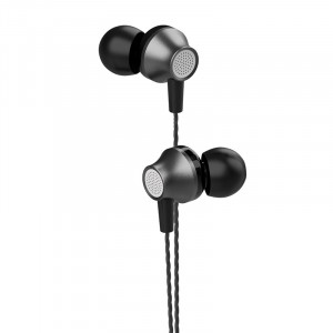 Handsfree Ακουστικά DEVIA Metal - Μαύρο