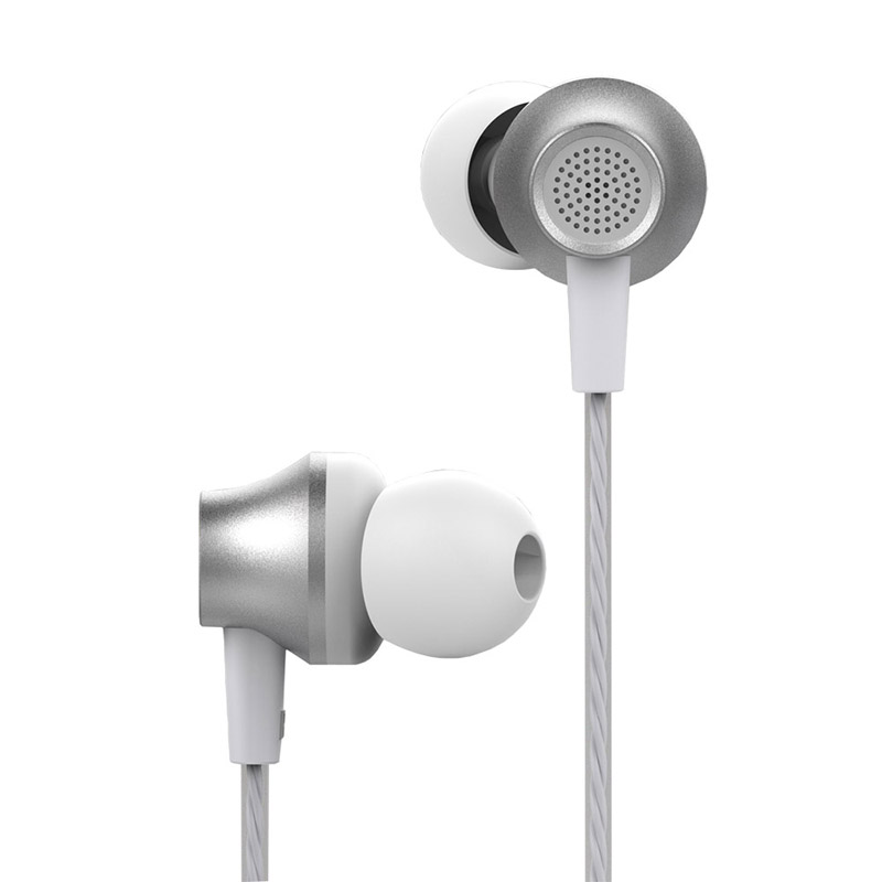 Handsfree Ακουστικά DEVIA Metal - Ασημί