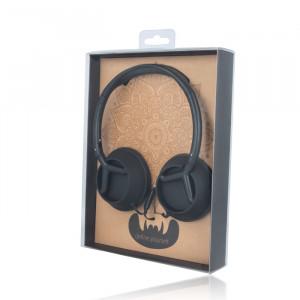 Headphones Fovever CM-400 Ακουστικά Handsfree 3.5mm - Μαύρο