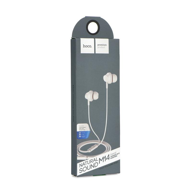Handsfree Ακουστικά HOCO M14 - Άσπρο