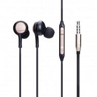 Handsfree OEM Stereo Ακουστικά Circle - Μαύρο