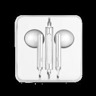 Handsfree OEM Stereo Ακουστικά Enjoy - Ασημί / Άσπρο