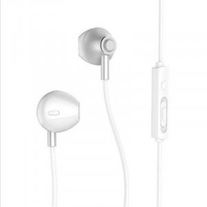 Handsfree Ακουστικά Remax RM-711 - Ασημί