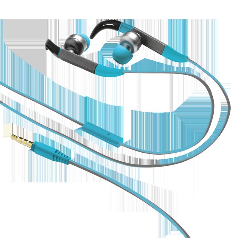 Handsfree Ακουστικά Trust Fit In-ear Sports - Μπλε