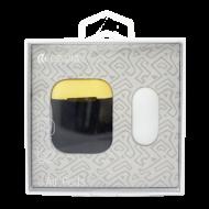 Θήκη Devia Naked2 για Apple AirPods - Μαύρο/Κίτρινο