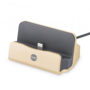 Βάση Φόρτισης και Μεταφοράς Δεδομένων Forever DS-01 για iPhone/iPod/iPad - Χρυσό