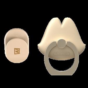 Δακτυλίδι Στήριξης Remax Lips Kickstand - Χρυσό