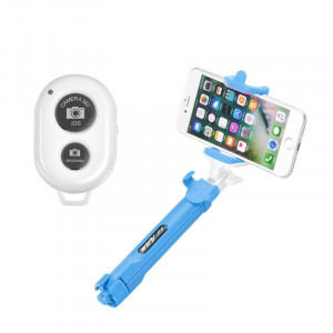 Selfie Stick Tripod Blun Bluetooth SSTR-01 - Μπλε