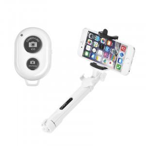 Selfie Stick Tripod Blun Bluetooth SSTR-01 - Άσπρο