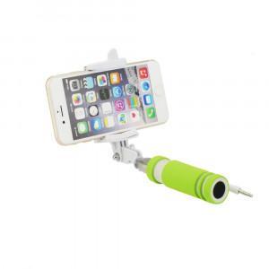 Selfie Stick Blun Mini Monopod με Καλώδιο - Πράσινο