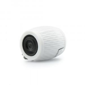 Ηχείο Bluetooth Blun Silicon Αδιάβροχο - Άσπρο