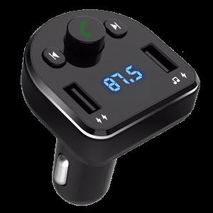 Φορτιστής Αυτοκινήτου Bluetooth FM Αναμεταδότης XO BCC01 - Μαύρο