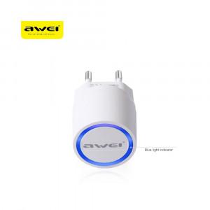 Φορτιστής Σπιτιού AWEI C-900 Dual USB - Άσπρο