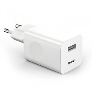 Φορτιστής Σπιτιού Baseus Quick Charge 3.0 - Άσπρο
