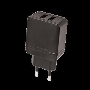 Φορτιστής Σπιτιού Maxlife MXTC-02 2xUSB 2.4A - Μαύρο