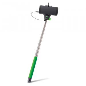 Selfie Stick Forever Monopod με Καλώδιο για Smartphones MP400 - Πράσινο