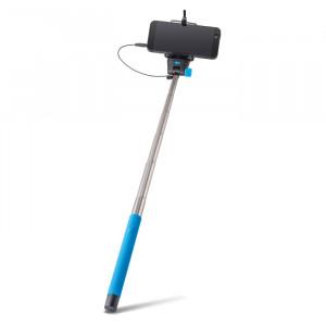 Selfie Stick Forever Monopod με Καλώδιο για Smartphones MP400 - Μπλε