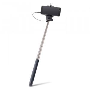 Selfie Stick Forever Monopod με Καλώδιο για Smartphones MP400 - Μαύρο