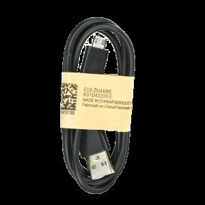 Καλώδιο Φόρτισης και Μεταφοράς Δεδομένων MicroUSB ver.1 1m - Μαύρο
