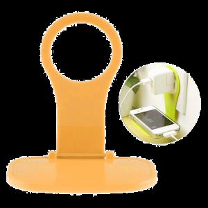 Βάση Στήριξης Φόρτισης για Smartphones - Πορτοκαλί