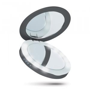 Powerbank 3000mAh Beeyo Compact Mirror - Μαύρο