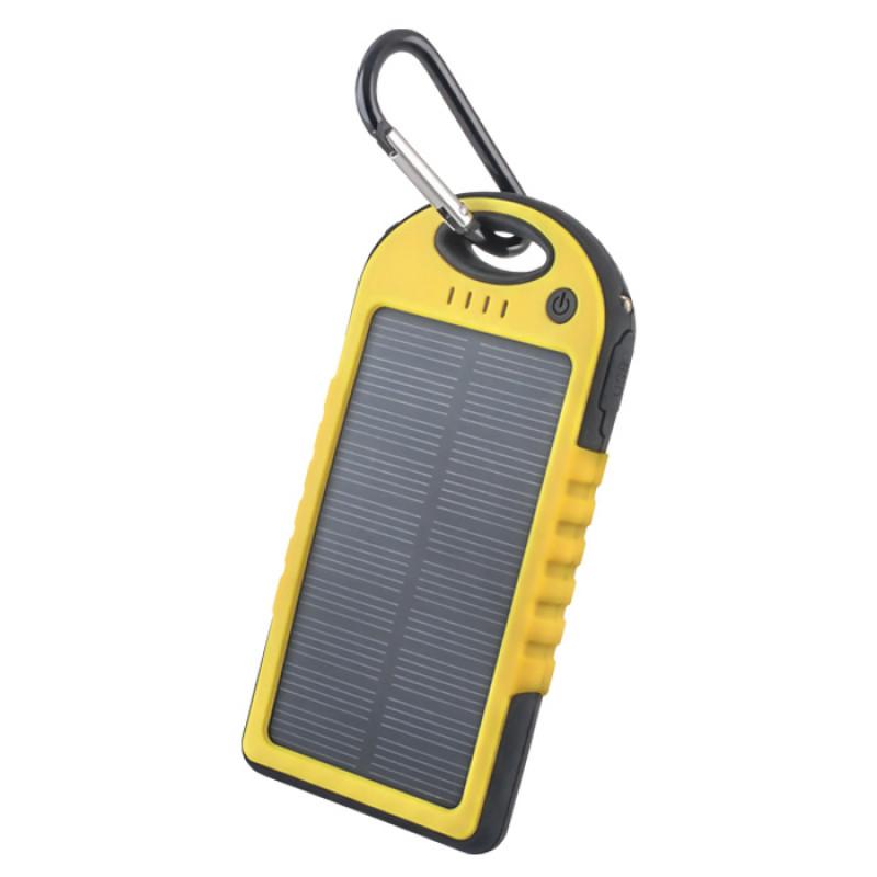 fcaba346b1 Powerbank 5000mAh Forever STB-200 με Ηλιακό Panel - Κίτρινο