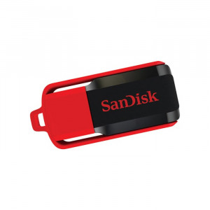 Στικάκι USB SANDISK Pendrive 16GB CRUZER SWITCH USB 2.0 - Μαύρο