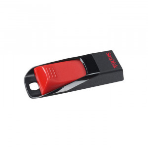 Στικάκι USB SANDISK Pendrive 16GB CRUZER EDGE USB 2.0 - Μαύρο