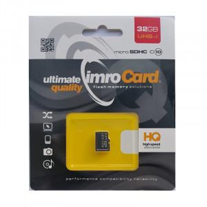 Κάρτα Μνήμης IMRO MicroSD 32GB UHS-I cl.10