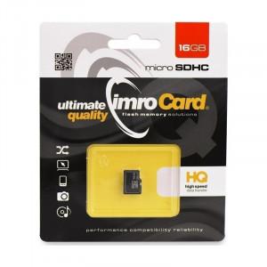 Κάρτα Μνήμης IMRO MicroSD 16GB UHS-I cl.10
