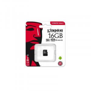 Κάρτα Μνήμης KINGSTON microSDHC 16GB Class 10